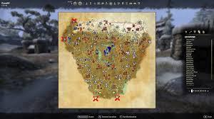 Eso Skyshards Map Pve Cyrodiil Servers U2014 Elder Scrolls Online