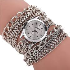 bracelet chain watches images Gnova platinum golden chain women watch large bracelet wristwatch jpg