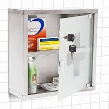 medizinschrank arzneischrank hausapotheke aus edelstahl u0026 glas