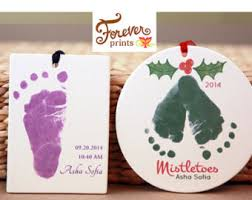 newborn footprint etsy