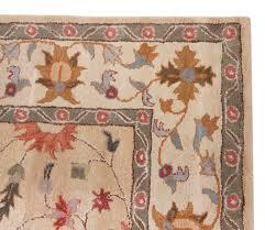 8x10 Red Area Rug Beautiful Traditional Persian Wool Area Rug 8x10 Handmade Beige