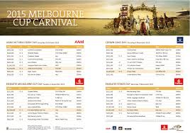 lexus melbourne cup race dates and conditions victoria racing club