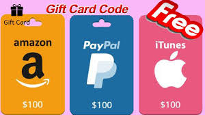 buy gift cards paypal gift card code free