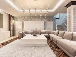 Large Corner Sofa Luxury Art Deco Design Bright Living Room With Large Corner Sofa