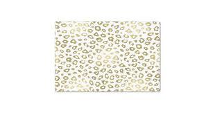 leopard print tissue paper gold ombre leopard print tissue paper zazzle