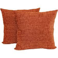 halloween cushions mainstays chenille throw pillow set of 2 walmart com