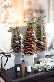 simple pinecone decor