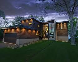 Outdoor Soffit Light Exterior Home Lighting Ideas Design Ideas