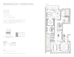 Five Bedroom Floor Plan Soori High Line Condos And Their Private Pools Return Asking From