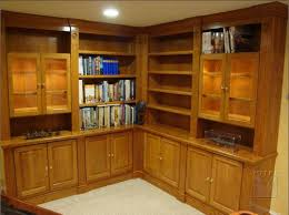 Solid Cherry Wood Bookcase Built Ins U0026 Bookcases Mitre Contracting Inc