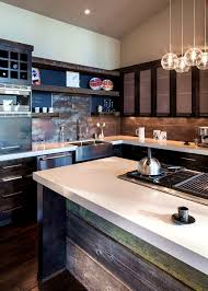 urban rustic home decor bathroom glamorous modern rustic kitchen design ideas home