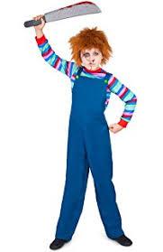 Chucky Costume Halloween Amazon Chucky Costume Medium Large Toys U0026 Games
