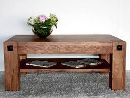 Wohnzimmertisch 80 X 50 Couchtisch Beistelltisch Aus Massivholz Eckig Oder Oval Massivholz