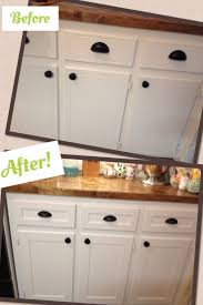 paint or stain kitchen cabinets kitchen cabinet painting cabinets white before and after kitchen