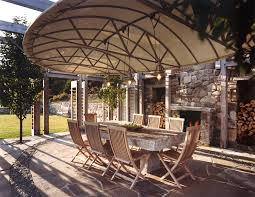 outdoor cafe design patio contemporary with tree exterior