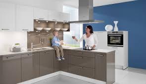 einbau küche moderne einbauküche classica 1230 weiss basaltgrau hochglanz