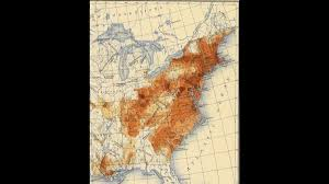 Colonial America 1776 Map by Demographic History Of The United States Wikipedia