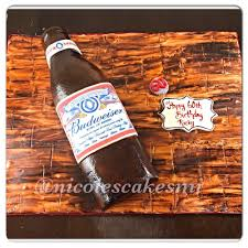 budweiser beer cake images tagged with beerbottlecake on instagram