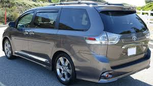 toyota s 2014 toyota sienna se update walk around video minivan youtube
