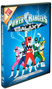 power rangers lost galaxy complete series dvd stores march