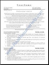 System Analyst Sample Resume Resume Analyst Resume Samples