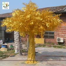 uvg gre043 indoor and outside use thick golden banyan tree