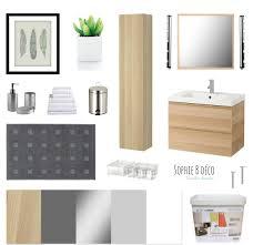 si e bain b planche shopping rénovation salle de bain bois gris blanc godmorgon