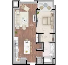 Cascade Floor Plan by Mill U0026 Main Luxury Apartments Floor Plans