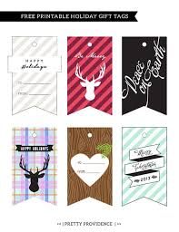 free printable holiday gift tags pretty providence