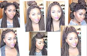 my braids are too heavy how to style heavy box braids 7 styles for 7 days youtube