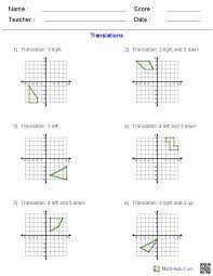 collection of solutions dilation math worksheets on example