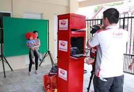photo booth setup canon helps your photo printing business with the new selphy cp820