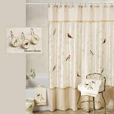 Vintage Shower Curtain Spectacular Birdcage Shower Curtain For Amusing Vintage Shower