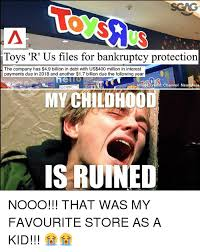 Meme Toys - toys r us files for bankruptcy protection the company has 49