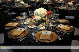 Gold Table Setting by Corinthian Events Boston Smith Hall Jfk Table Setting Corinthian