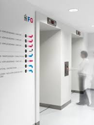 signaletique bureau signalétique et identité graphique cliniques st michel