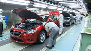 mazda car line mazda 6 production line youtube