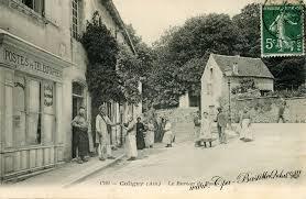 le ancienne de bureau carte postale ancienne de coligny le bureau de poste en 1900