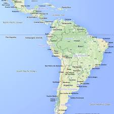 map of cities in south america america map with cities map of usa