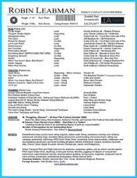 acting resume no experience template http topresume info