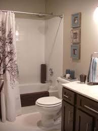 Gray And Tan Bathroom - ideas with bathroom shower curtain ideas designs enchanting ideas