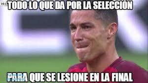 Memes De Ronaldo - top 10 memes de la lesión de cristiano ronaldo final eurocopa 2016
