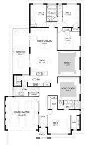 corner lot duplex floor plans plan architecture 60347 wide house