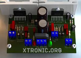 2 1 home theater circuit diagram circuit power audio amplifier stereo ic tda7293 u2013 200 watts rms