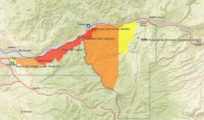 Washington State Fire Map by Eagle Creek Fire Fire Holds At 7 Percent Contained Through