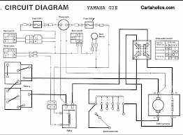 wiring diagram wiring diagrams for yamaha golf cart electric