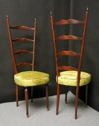 High Back Chair by Italian High Back Chairs By Chiavari Legerissima 1950 Set Of 2