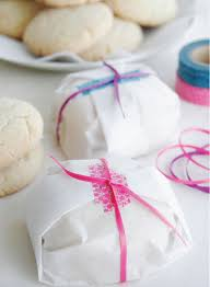 wrap it up 30 cookie wrappers to buy or diy parchment