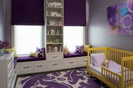 Purple Rugs For Bedroom Yellow And Purple Kids Room With Yellow Convertible Toddler Crib