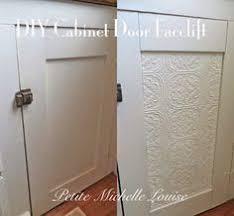 20 diy cabinet door makeovers with furniture stencils diy